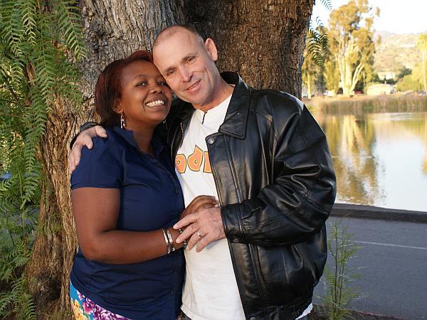 Darren and Fatuma, Back from Uganda